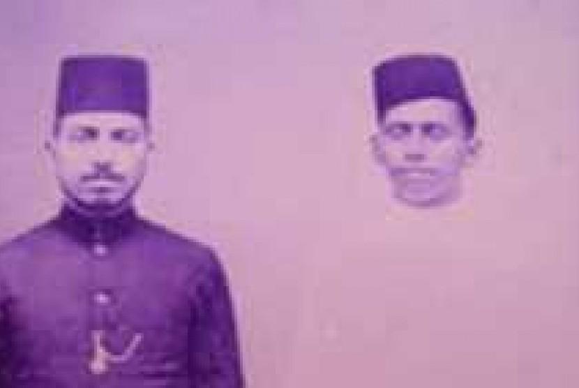 Habib Muhammad bin Ali Bin Yahya (kanan)