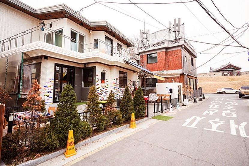 Haengnidan jadi salah satu jalanan favorit bagi wisatawan di Korea Selatan