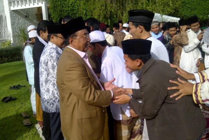 Halal bi halal dengan Dubes RI Tosari Widjaya