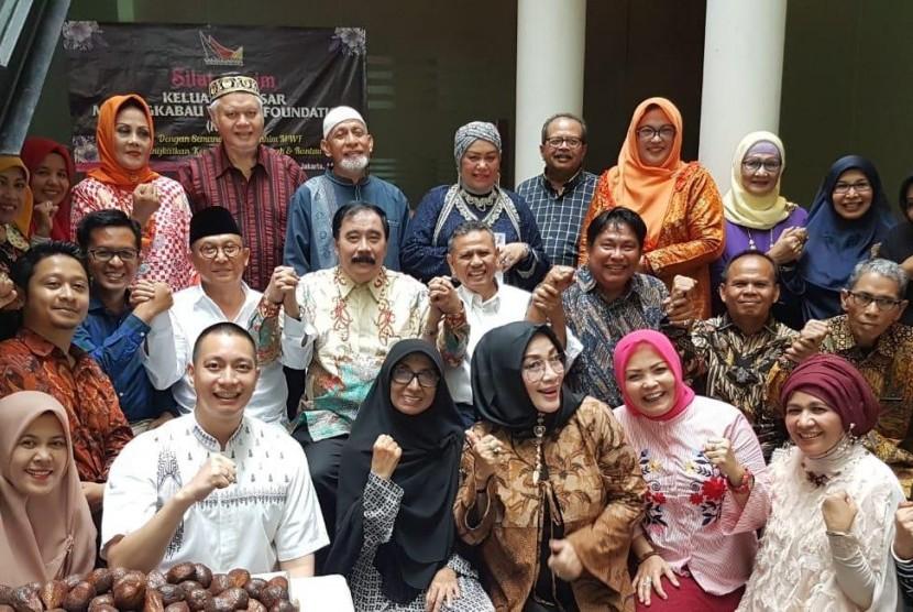 Halal Bihalal Keluarga Besar Minangkabau World Foundation (MWF).