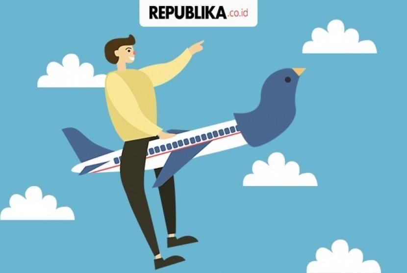 Harga Tiket Pesawat Mahal Ini Klarifikasi Traveloka Republika Online