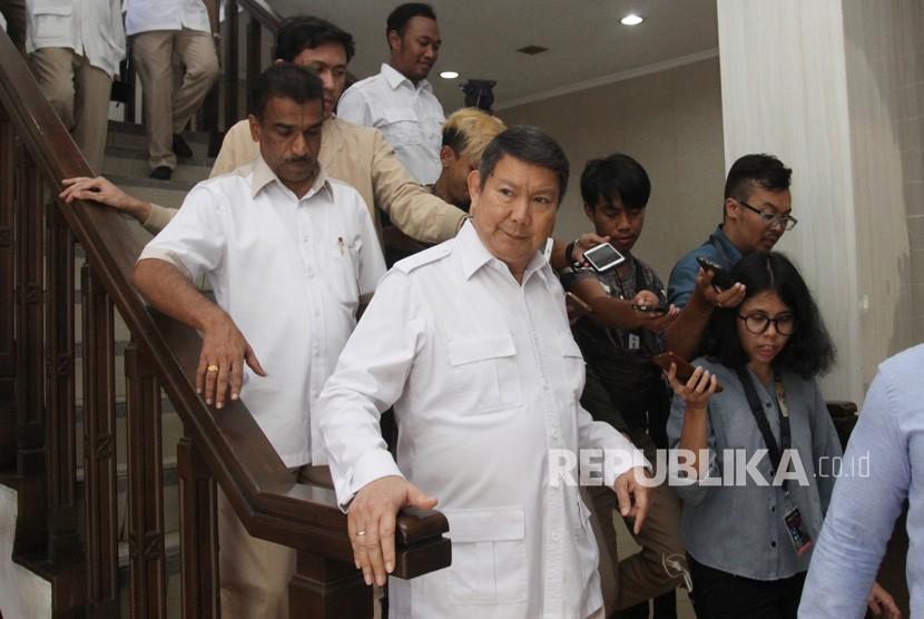 Direktur Media dan Informasi Badan Pemenangan Nasional (BPN) Prabowo Subianto-Sandiaga Salahudin Uno, Hashim Djojohadikusomo.
