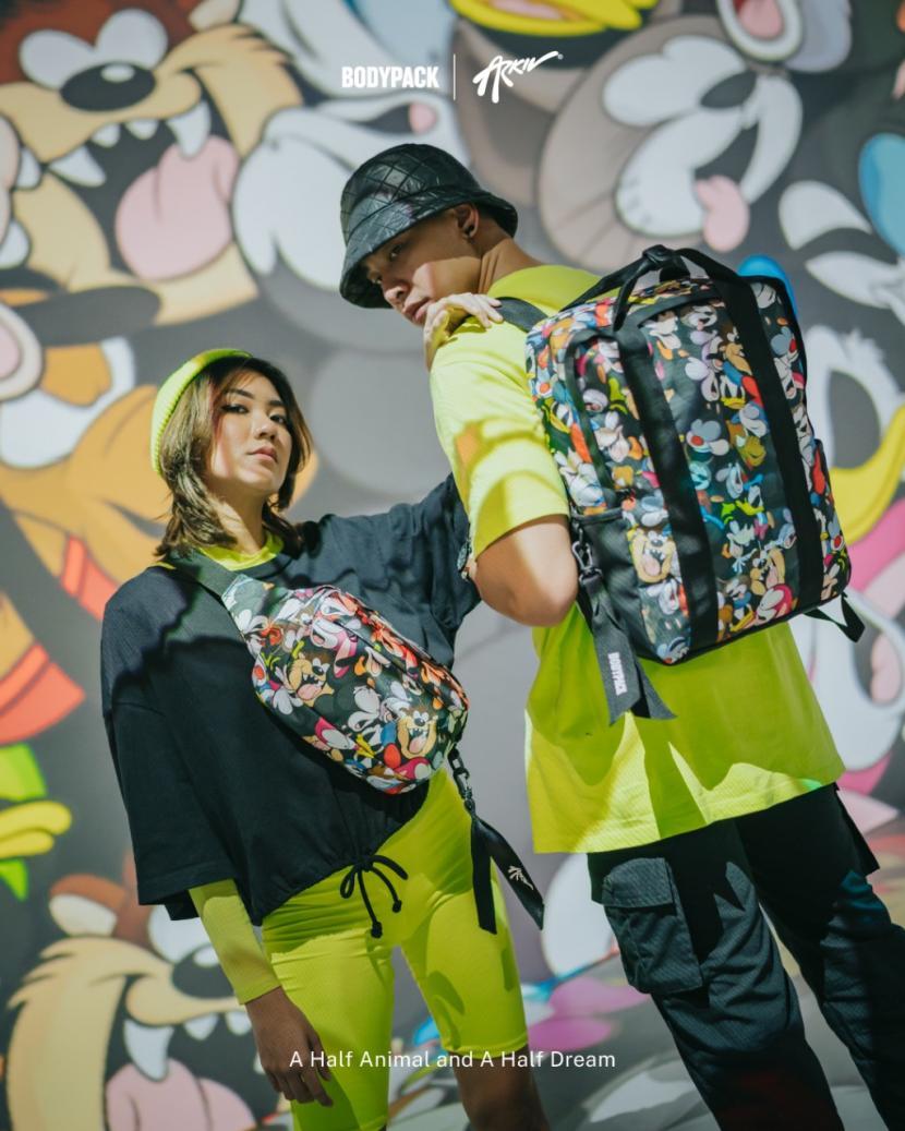 Hasil kerjasama Bodypack dan Arkiv.