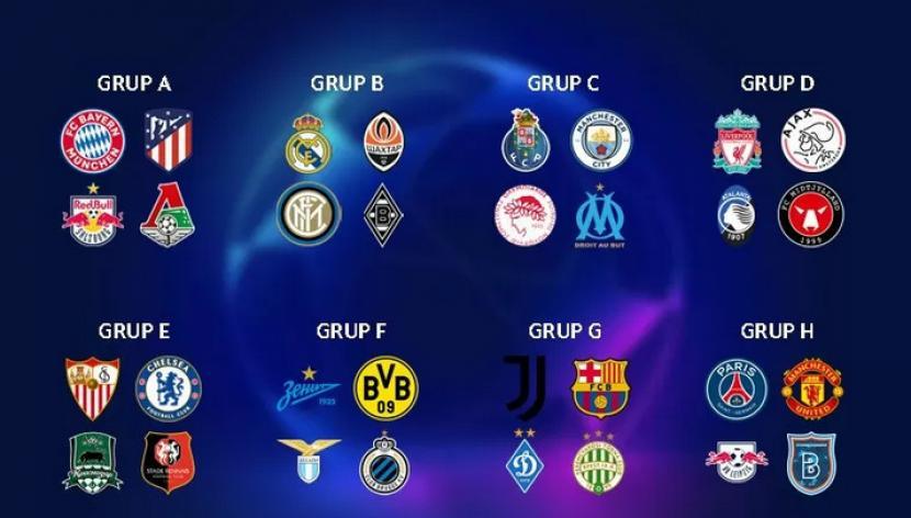 Ini Hasil Lengkap Undian Grup Liga Champions Republika Online