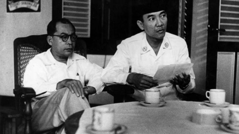 Soekarno Usai Dilantik Jadi Presiden Makan Sate Dekat Got Republika Online