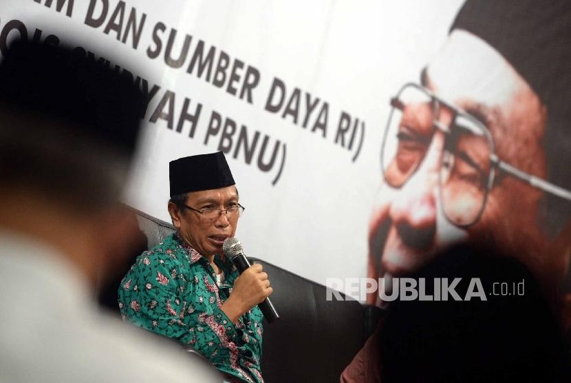 Wakil Ketua DMI Kiai Masdar Farid Mas'udi (ilustrasi)