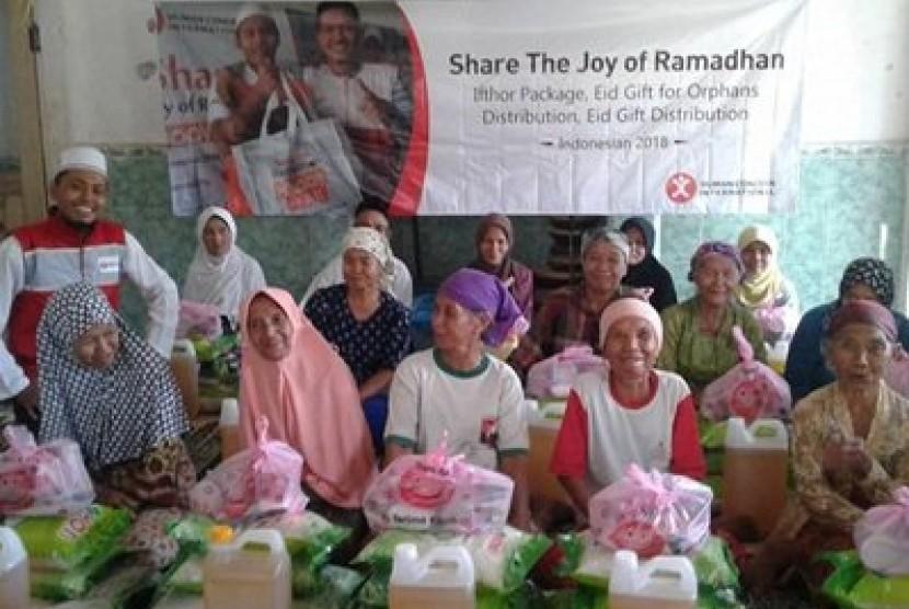 HCI (Human Concern Internasional) bekerja sama dengan Rumah Zakat dalam program Ramadhan Berdaya.