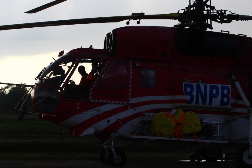 Helikopter BNPB Mendarat Darurat di Grobogan (ilustrasi).