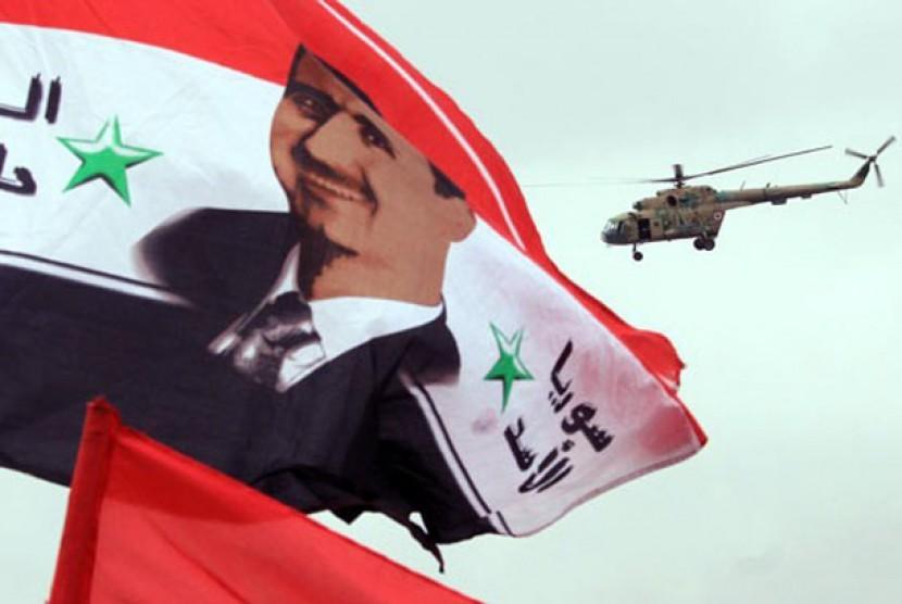 Helikopter Suriah. Ilustrasi.