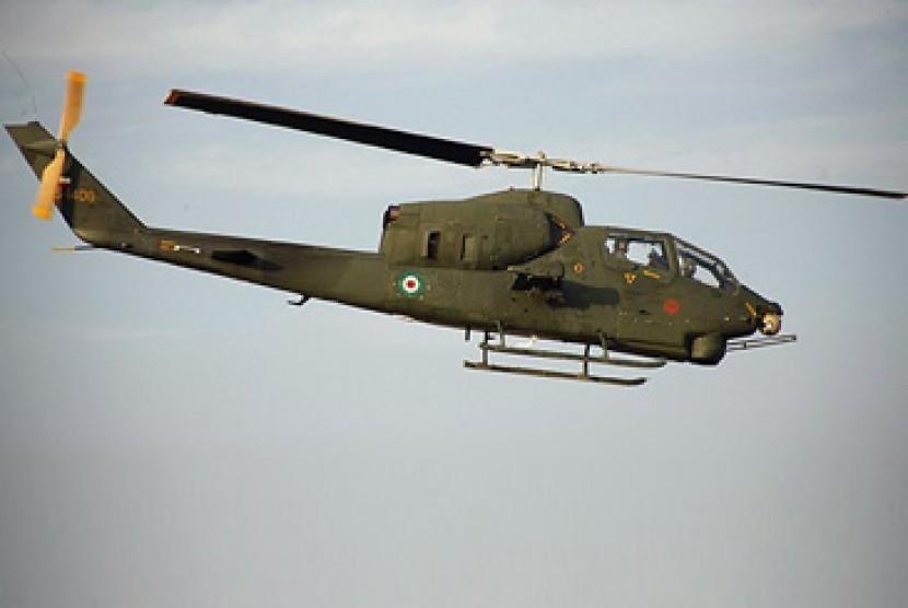 Helikopter tempur/ilustrasi