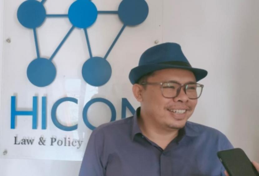 Direktur HICON Law & Policy Strategies, Hifdzil Alim, menilai keputusan MK menolak 100 gugatan perkara pilkada tepat