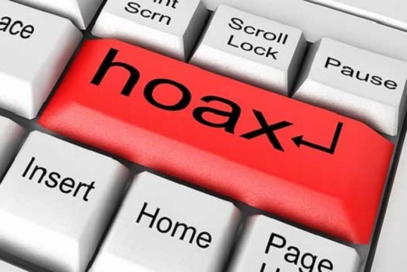 Hoax. Ilustrasi