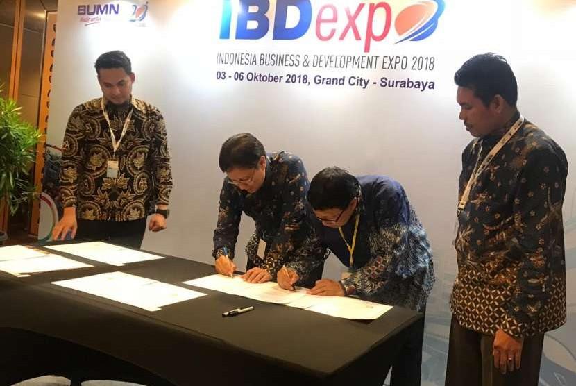 Holding Industri Pertambangan PT Inalum (Persero) menjalin kerja sama dengan Politeknik Negeri Malang (PNM) melalui penandatanganan Memorandum of Understanding (MoU) Rabu (3/10).
