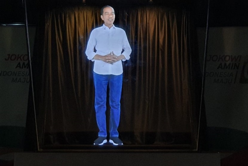 Hologram Joko Widodo