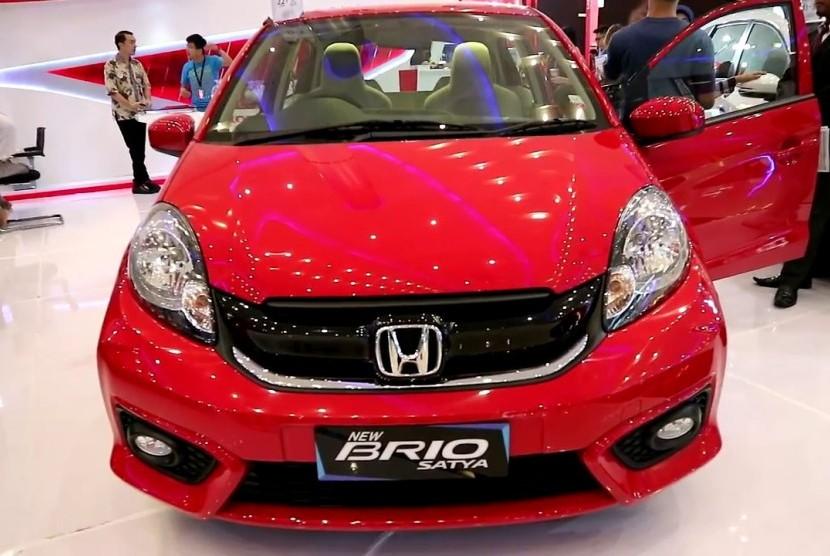 Honda Brio Satya. Ilustrasi