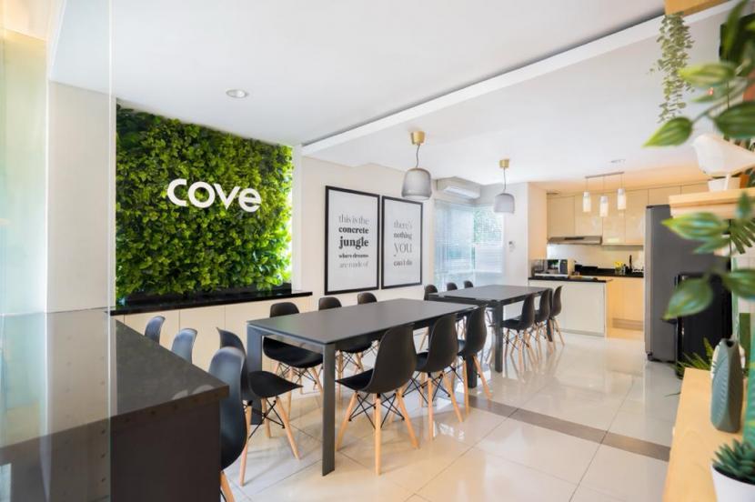 Hunian dengan konsep co-living yang diusung Cove.