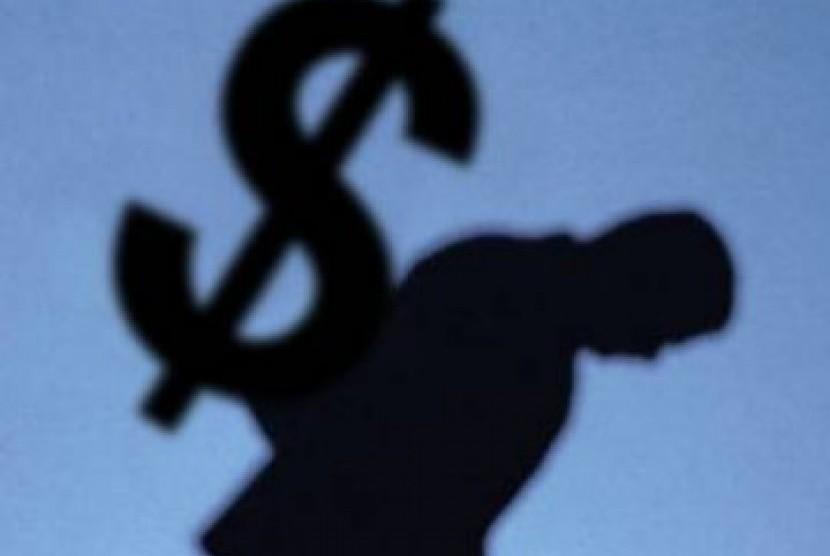 Hutang dalam Dolar(Illustrasi)