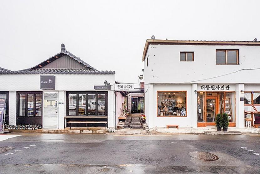 Hwangnidan jadi salah satu jalanan favorit bagi wisatawan di Korea Selatan