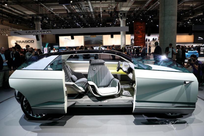 Hyundai 45 Mobil Listrik Berpenampilan Futuristik Republika Online