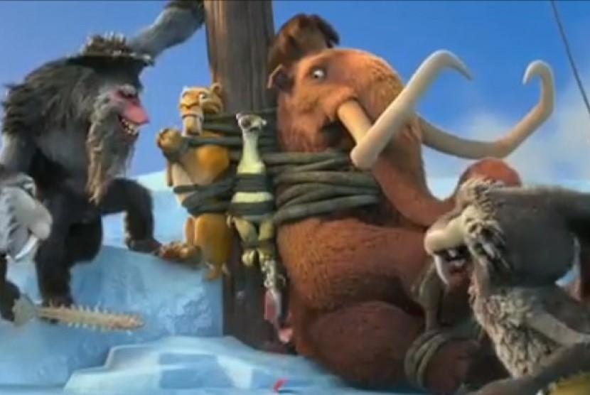 ice age 4: kali ini bertualang di retakan bumi | republika