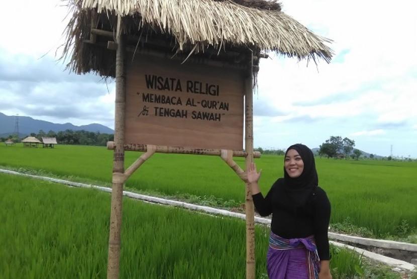 Ida Wahyuni, perempuan perintis Desa Wisata Halal Setanggor Nusa Tenggara Barat