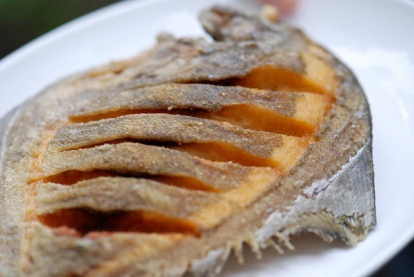 Ikan goreng/ilustrasi