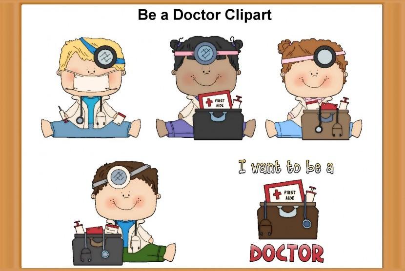 Iklan menjadi dokter (ilustrasi)