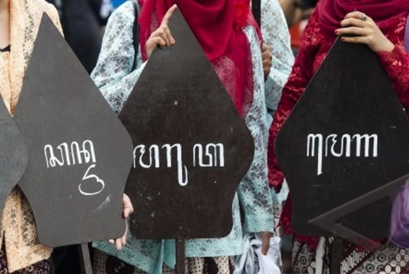 Ilustrasi Bahasa Daerah.