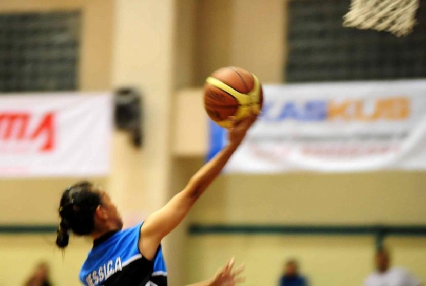 Ilustrasi basket putri