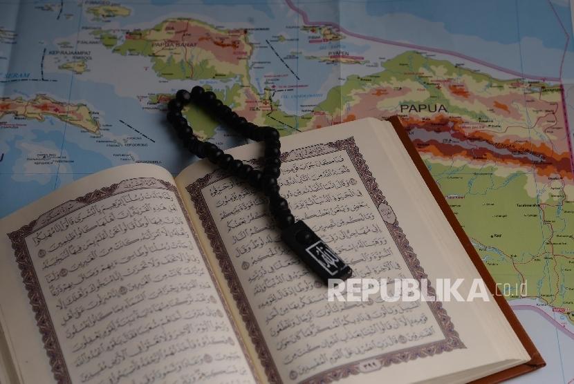 Ilustrasi Dialog Jumat. Tema: Dakwah Islam di Papua