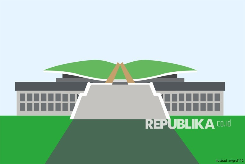 Ilustrasi Gedung DPR