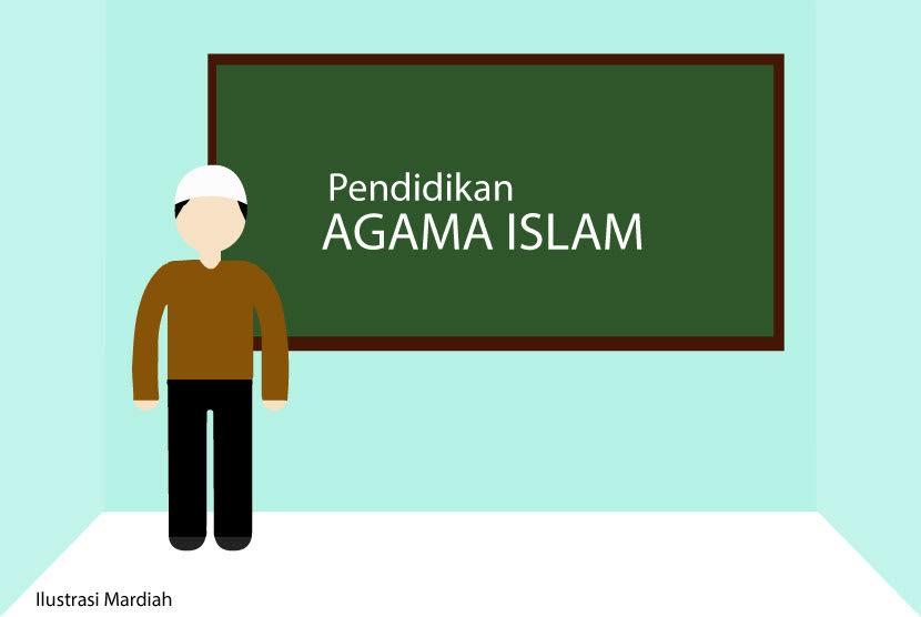 Ilustrasi guru agama.
