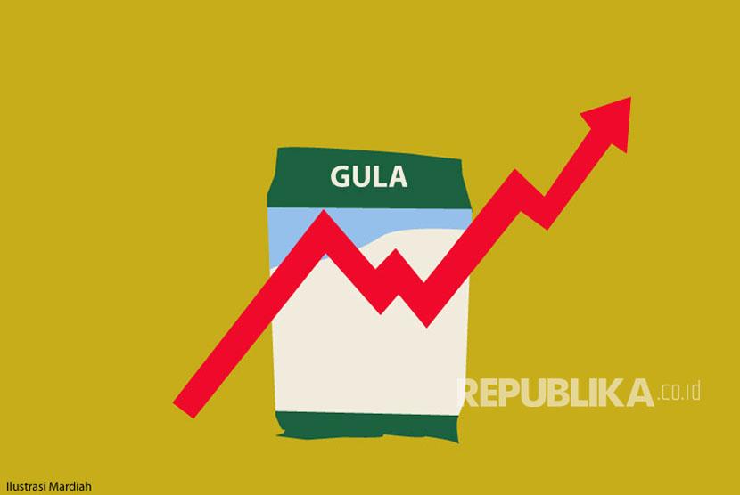 Ilustrasi Harga Eceran Tertinggi (HET) Gula