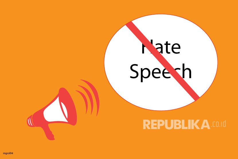 Ilustrasi Hate Speech