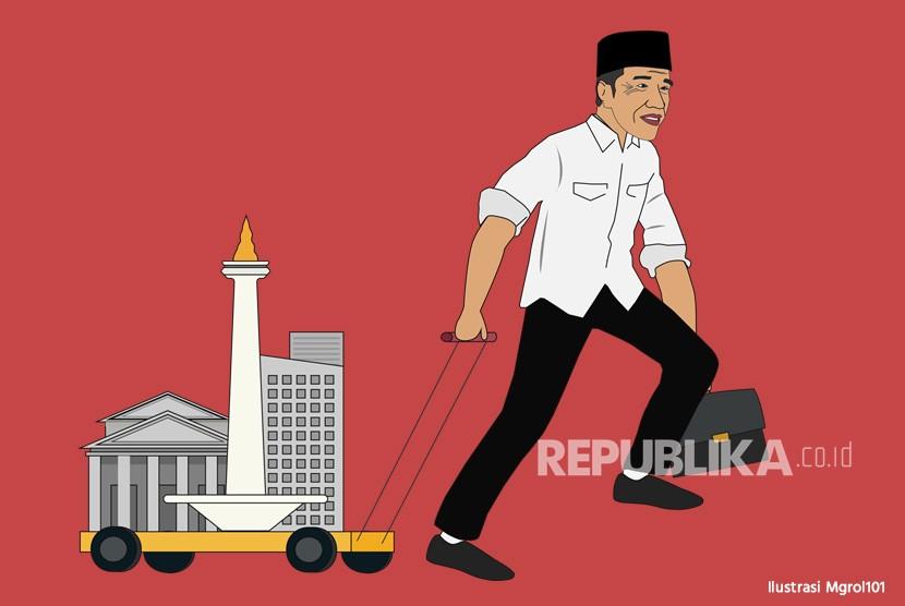 Ilustrasi Ibukota Pindah