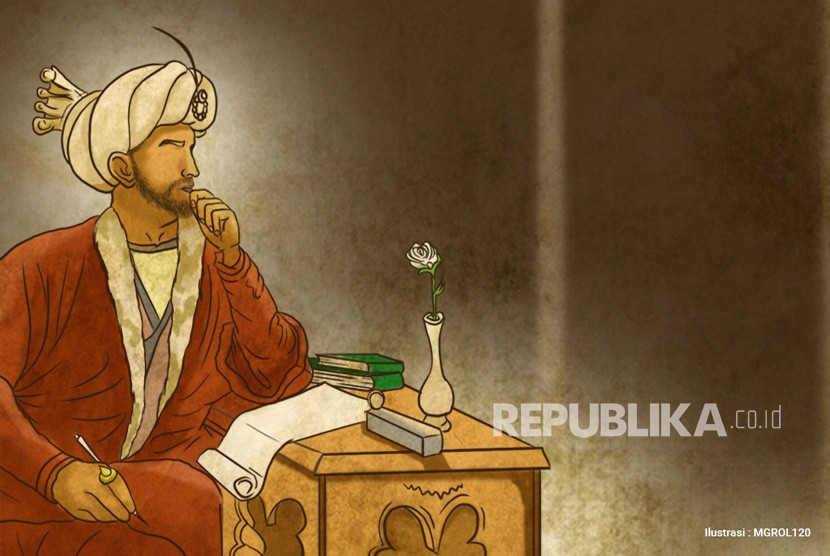 Ilustrasi Ilmuwan Muslim Penyair