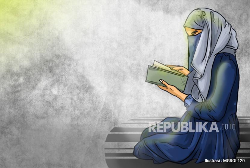 Ilustrasi Ilmuwan Muslimah