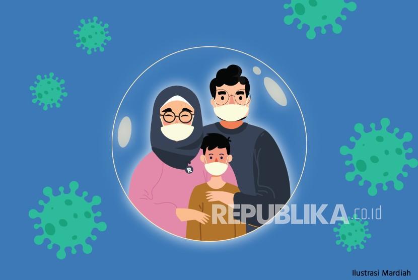Ilustrasi Karantina Mandiri