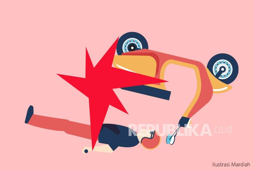 Tabrakan Beruntun di Wonosobo Akibatkan Satu Korban Tewas (ilustrasi).