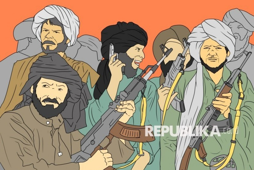 Ilustrasi Kelompok Taliban