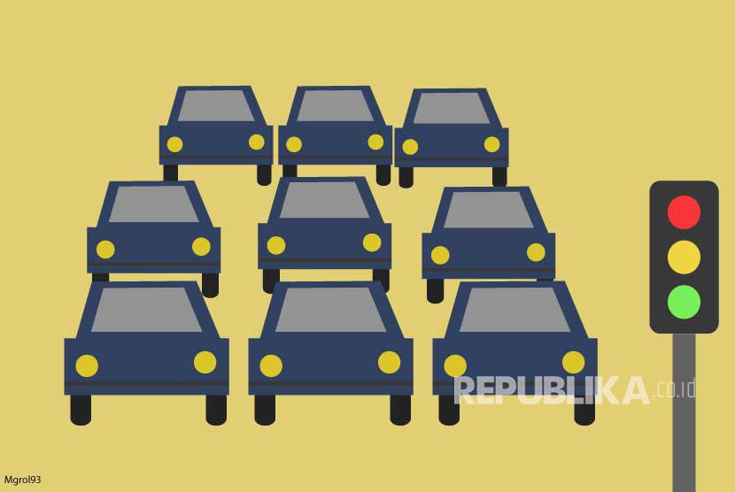 Ilustrasi Kemacetan Lalulintas