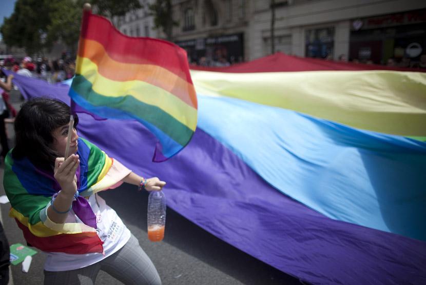 Ilustrasi komunitas LGBT Prancis