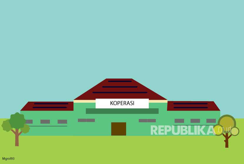 Ilustrasi Koperasi. Majelis Taklim (MT) Masjid Nurul Amri Kota Padang Panjang akan membentuk koperasi syariah.