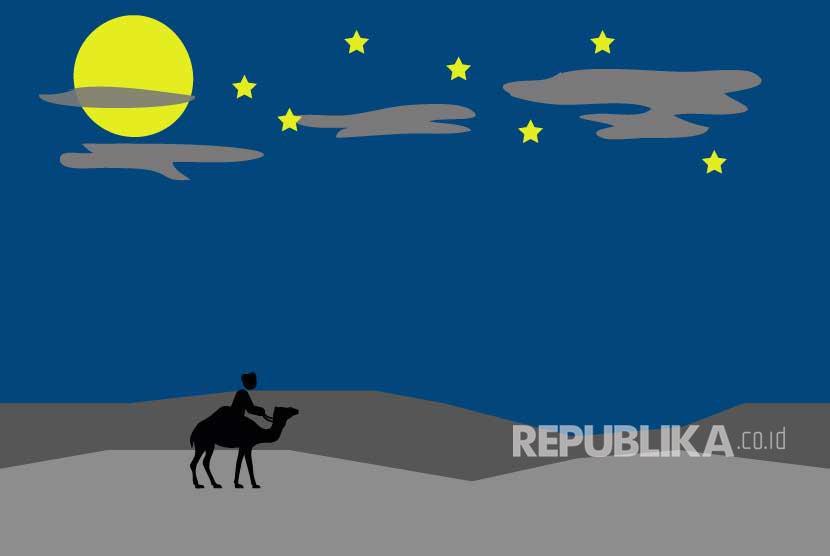 Ilustrasi Malam Lailatul Qadar