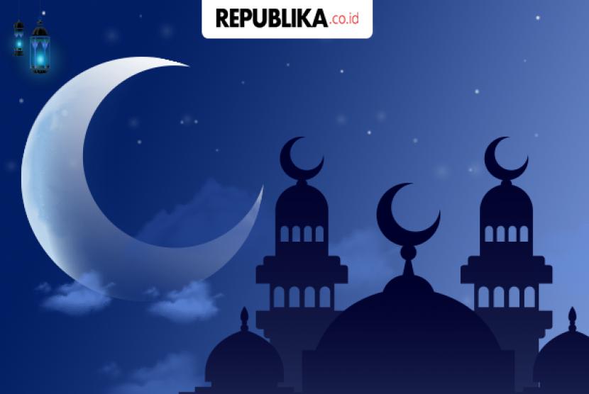 Terdapat tanda alam kehadiran lailatul qadar pada malam Ramadhan. Ilustrasi Malam Lailatul Qadar