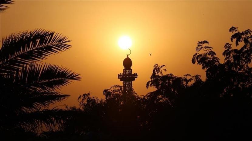 Perbaikan akan dilakukan di Masjid Nabi Muhammad.   Ilustrasi: Masjid tempat ibadah umat Muslim.