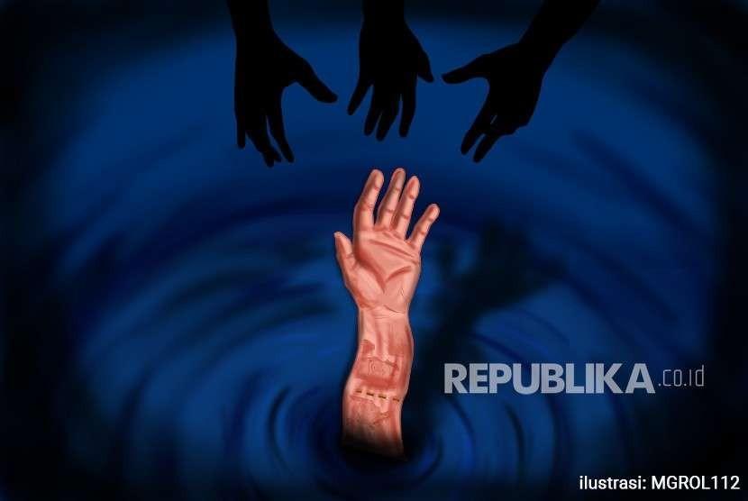Ilustrasi Menolong Rupiah