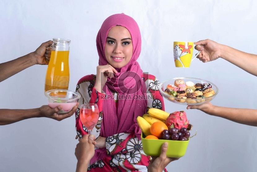 Ilustrasi Mubazir Jajan Banyak Ramadhan