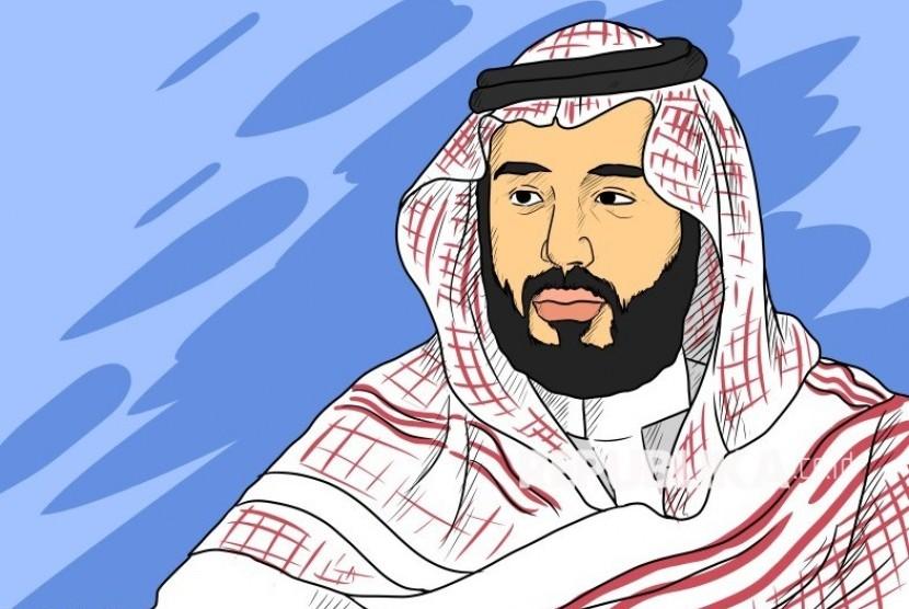 Ilustrasi Muhammad bin Salman