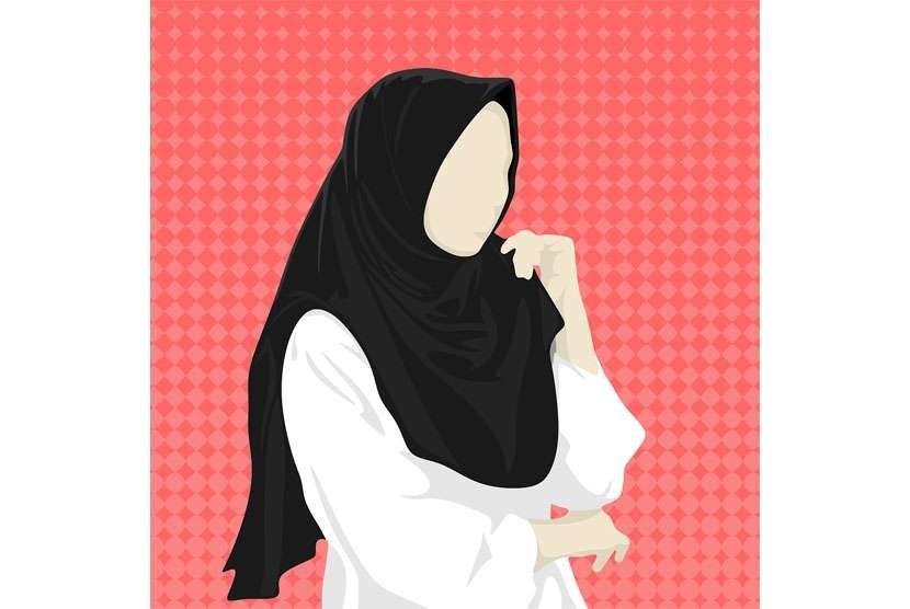 Ilustrasi Muslimah